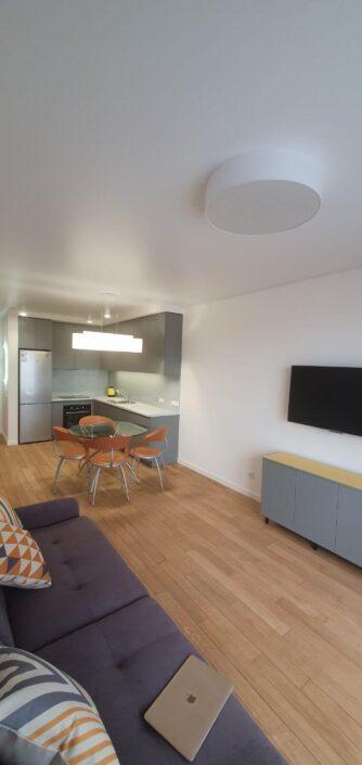 Ремонт и перепланировка двухкомнатной квартиры