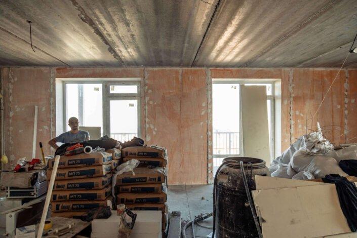 Фото, ремонт в ЖК липинка 2