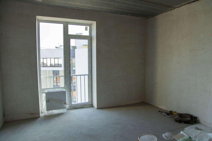 Начальная стадия ремонта квартиры, фото