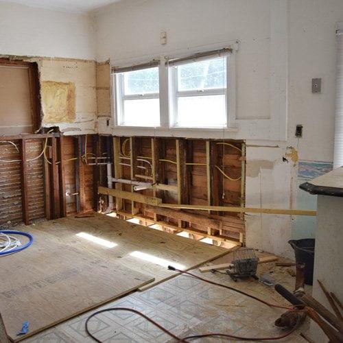 Ремонт квартир Киев - демонтаж старой отделки