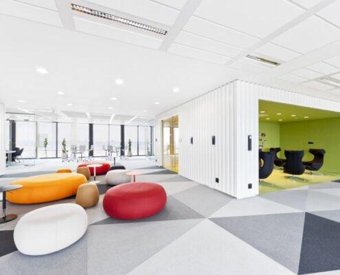 Дизайн проект интерьер офиса