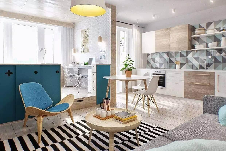 Дизайн ремонт однокомнатной квартиры