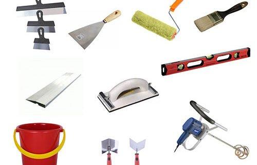 Инструменты для откосов на окнах