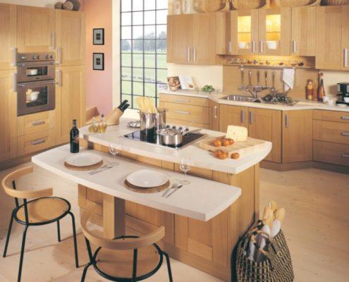 Как современные дизайнеры решают проблему маленьких кухонь?