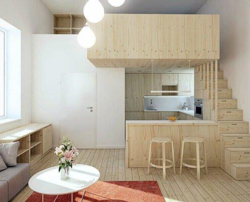 Как сэкономить пространство в маленькой квартире
