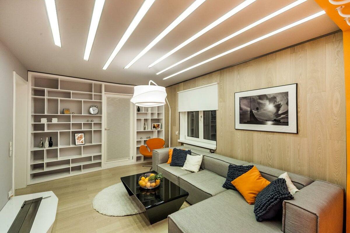 освещение в квартире фото