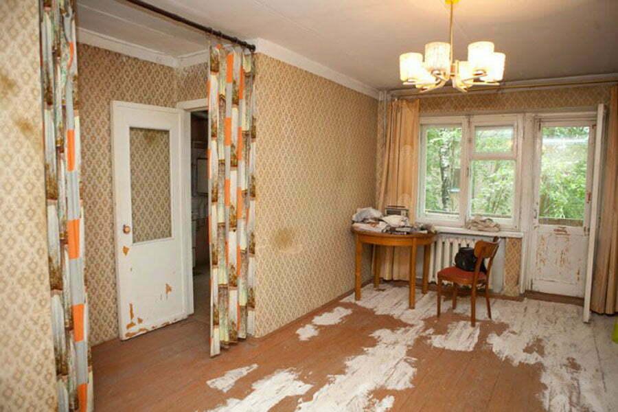 Как делают ремонт вторичного жилья?