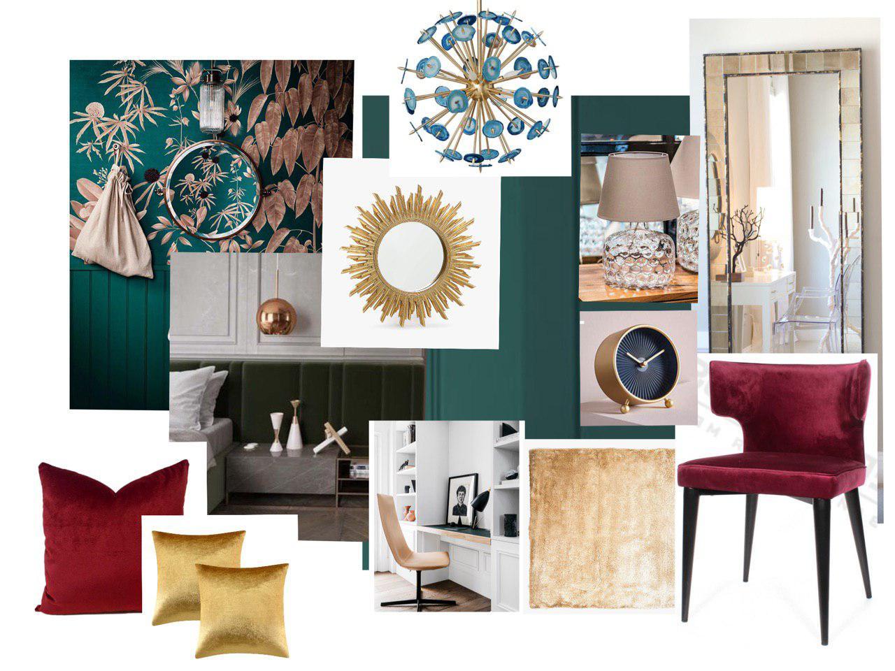 текстильное декорирование интерьеров фото